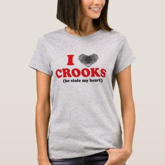 T-shirt Escrocs