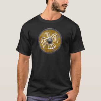 T-shirt escudo viking viking shield