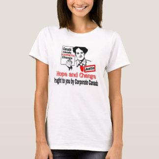 T-shirt Espoir et changement canadiens ?