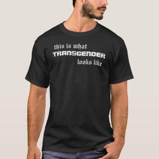 T-shirt Est c'à ce que le transsexuel ressemble
