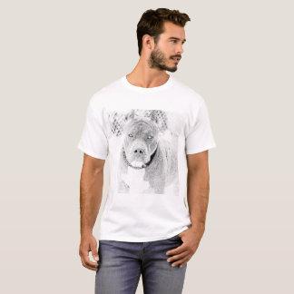 T-shirt estilosa Pitbull Club