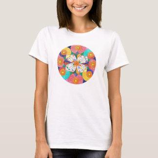 T-shirt et accessoires de mandala d'abondance pour