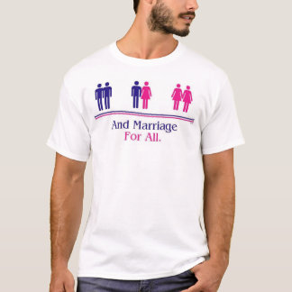 T-shirt et mariage pour tous
