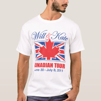 T-SHIRT ET VISITE CANADIENNE DE KATE