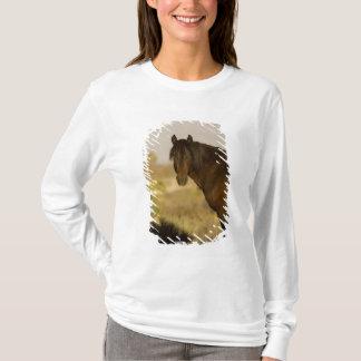 T-shirt Étalon sauvage de mustang, troupeau de Wheeler