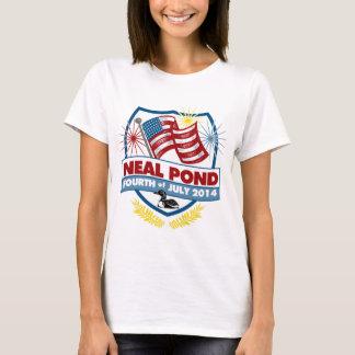 T-shirt Étang 2014 de Neal - insigne