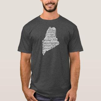"""T-shirt """"État de la douille courte foncée des hommes du"""