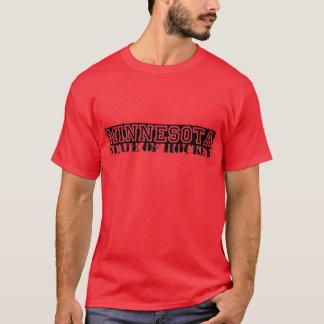 T-shirt État du Minnesota d'hockey