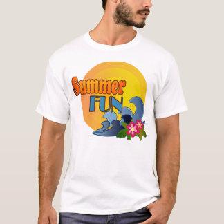 T-shirt Été-Amusement