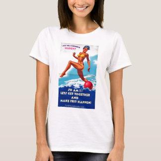 T-shirt Êtes-vous une garce perlante ?