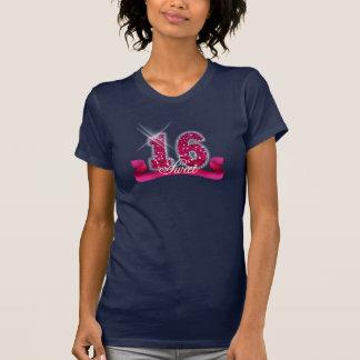T-shirt Étincelle de sweet sixteen