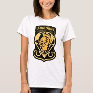 T-shirt Étiquette aéroportée de parachute