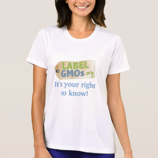 T-shirt Étiquette OGM