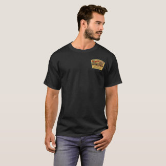 T-shirt Étiquette vintage de vieux de rondin whiskey de