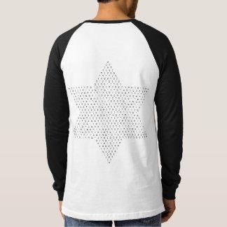T-shirt Étoile de David avec les lettres hébreues/sur le
