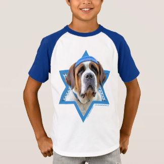 T-shirt Étoile de David de Hanoukka - St Bernard