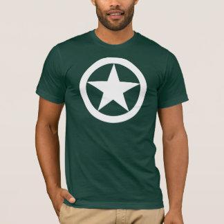 T-shirt Étoile de jeep de 2ÈME GUERRE MONDIALE