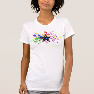 T-shirt Étoile peinte