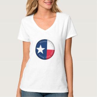 T-shirt Étoile solitaire de drapeau du Texas