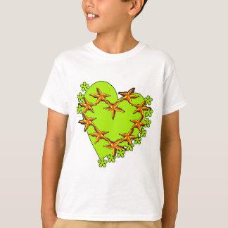 T-shirt Étoiles de mer irlandaises
