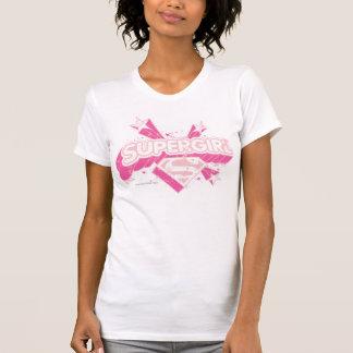 T-shirt Étoiles et logo de Supergirl