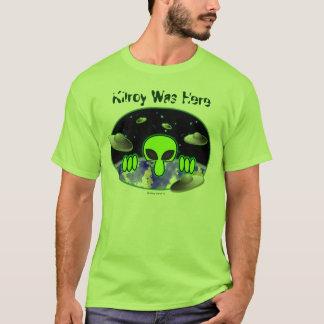 T-shirt étranger de Kilroy