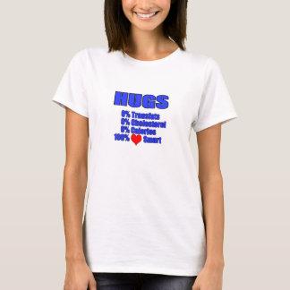 T-shirt étreintes - coeur sain