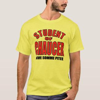 T-shirt Étudiant de Chaucer