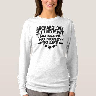 T-shirt Étudiant universitaire drôle d'archéologie