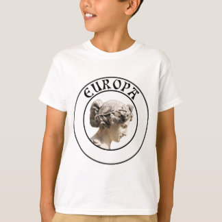 T-shirt Europa : Soyez fier de montrer vos euro racines !