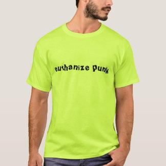 T-shirt Euthanize la chemise punk