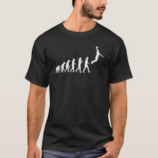 T-shirt Évolution - basket-ball b
