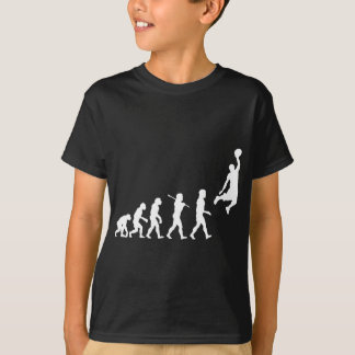 T-shirt Évolution de basket-ball