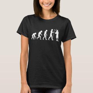 T-shirt Évolution de cornemuses