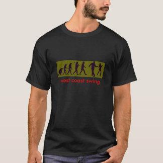 T-shirt Évolution de danse