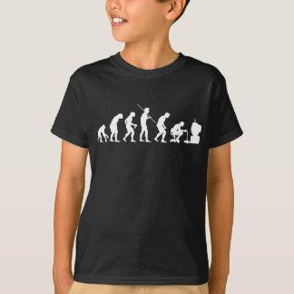 T-shirt Évolution de Gamer de jeu de jeux vidéo