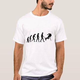 T-shirt Évolution de plongée à l'air