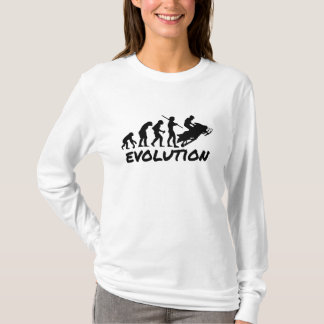 T-shirt Évolution de Snowmobile
