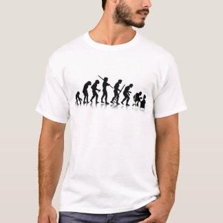 T-shirt Évolution des mordus de l'informatique