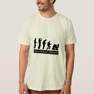 T-shirt Évolution du boire