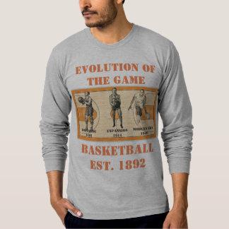T-shirt Évolution du jeu--Basket-ball