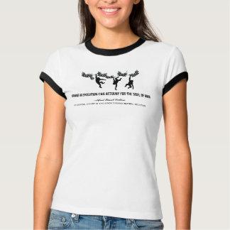 T-shirt Évolution et l'âme