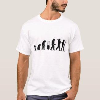 T-shirt Évolution humaine