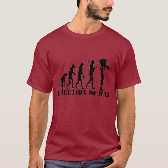 T-SHIRT EVOLUTION OF MAN