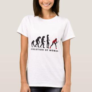 T-shirt évolution tennis female