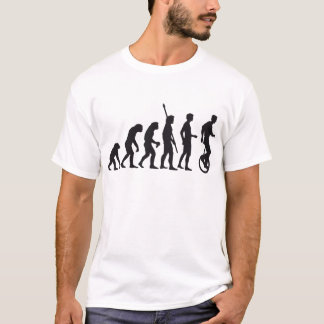 T-shirt évolution unicycle