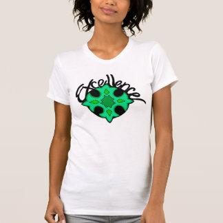 T-shirt Excellence indiquant la chemise