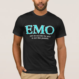 T-shirt Excuse d'Emo