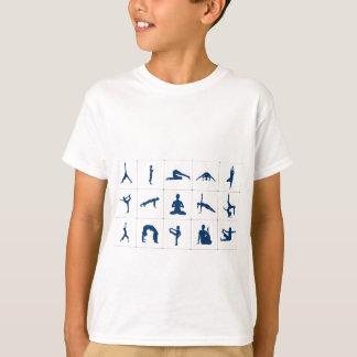 T-shirt Exercice de yoga