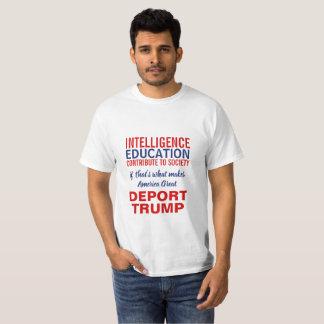 T-shirt Expulsez la déclaration d'immigration d'Anti-Atout